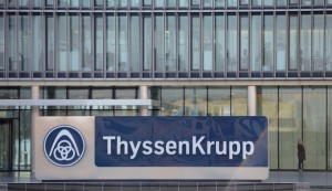 GERMANY-ENGINEERING-COMPANY-EARNINGS-THYSSENKRUPP