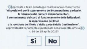 Referendum costituzionale: perché si e perché no. Le riflessioni di Domenico Pulitanò e Valerio Onida