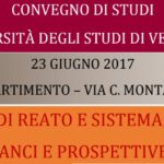 Vittime di reato e sistema penale: bilanci e prospettive (Verona, 23 giugno 2017)