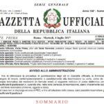 Pubblicata in Gazzetta Ufficiale la Legge 12 luglio 2017, n. 110 sull'introduzione del delitto di tortura nell'ordinamento italiano