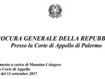 Sull'applicabilità dell'art. 603 comma 3-bis c.p.p ai procedimenti celebrati con rito abbreviato: la memoria della Procura presso la Corte di Appello di Palermo nel procedimento a carico di Calogero Mannino