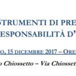 Ambiente e salute: strumenti di prevenzione e di difesa della responsabilità d'impresa (Milano, 15 dicembre 2017)