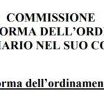 Pubblicati i lavori conclusivi della Commissione ministeriale per la riforma dell'ordinamento penitenziario. Ecco la Relazione conclusiva.