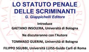 'Lo statuto penale delle scriminanti' (Bologna, 17 maggio 2018)