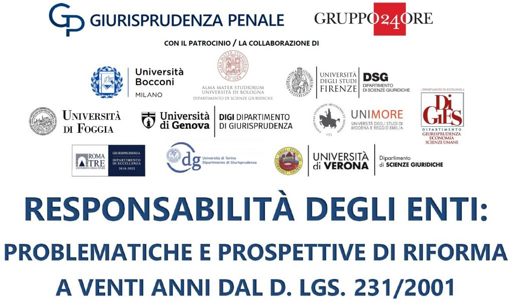 responsabilità degli enti - call for papers