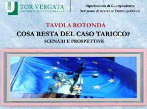 Cosa resta del caso Taricco? Scenari e prospettive (webinar – 16.3.2021)