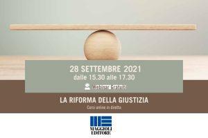 La riforma della giustizia penale (webinar, 28 settembre 2021)